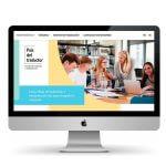 Сайт для испанской школы переводов